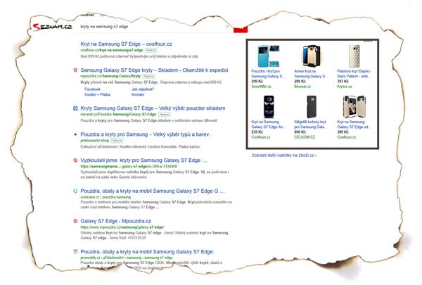 Produkty na Seznamu